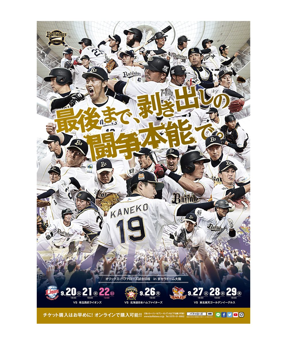 野球ポスター、広告、web etc